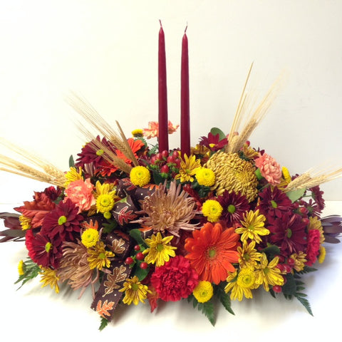 Graceful Harvest Centerpiece