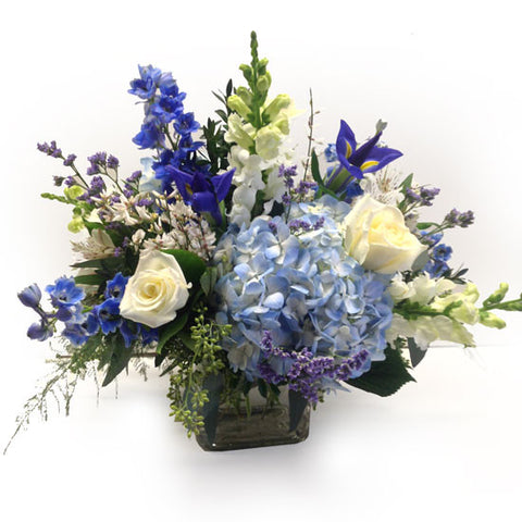 Beautiful Blue Centerpiece