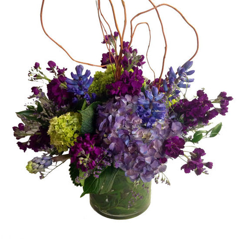 Lush Purple Centerpiece