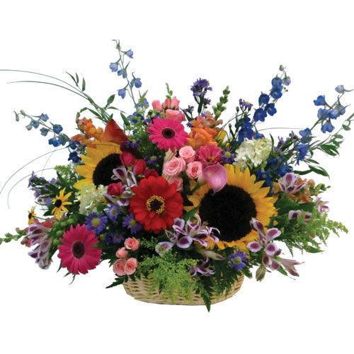 Radiant Countryside Basket