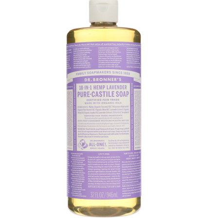 Dr Bronners - liquid soap lavender 32 oz