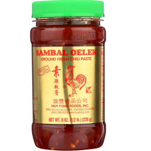 Huy fongc- chili paste sambal 8 oz