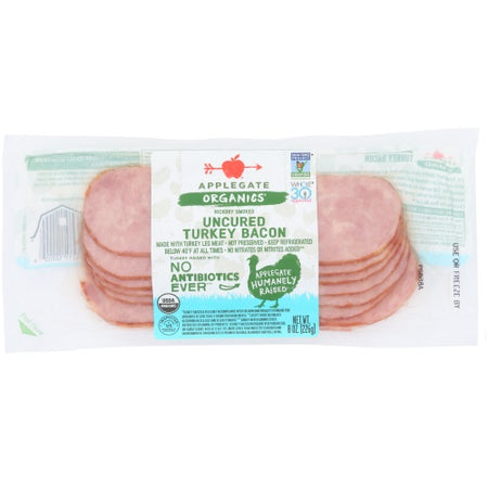 Applegate - Turkey Bacon Organic - 8oz