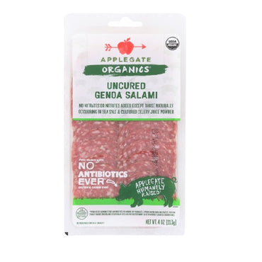 Applegate - Salami Genoa Sliced - 4oz
