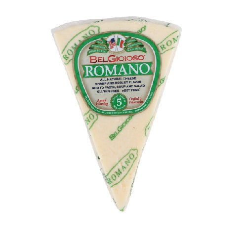 Belgioioso - Romano Wedge Cheese - 8oz