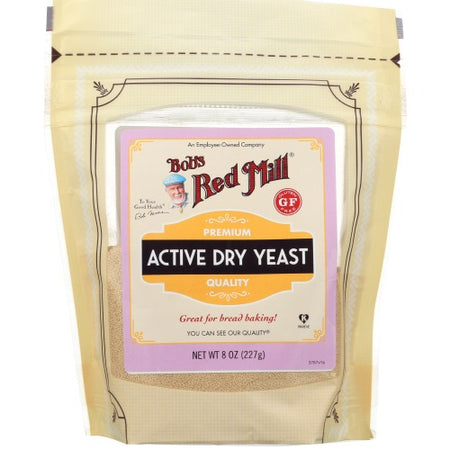 Bobs - yeast dry active 8 oz