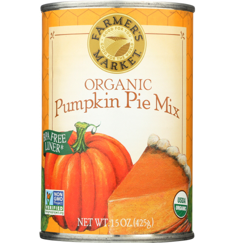 Farmers - Pumpkin pie mix 15 oz