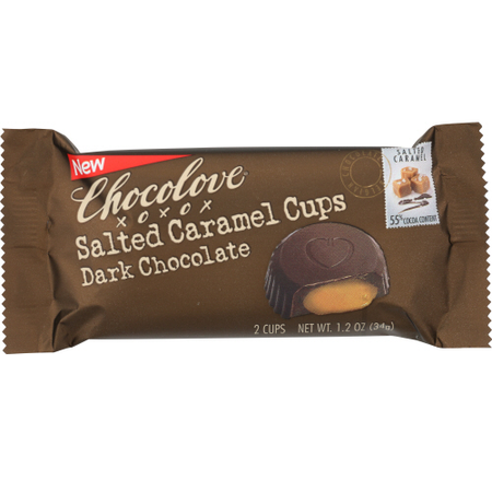 Chocolove - salted caramel cups 1.2 oz