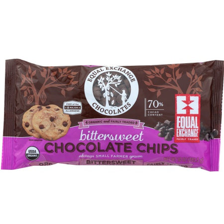 EqualEx - bittersweet choco chips 10 oz