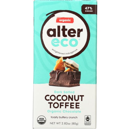 AlterEco - chocolate coco toffee 2.8 oz