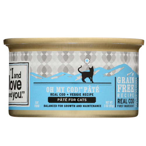 Iandlove - cat can cod pate 13 oz