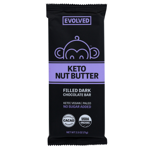 Evolved - keto nut butter chocolate 2.5 oz