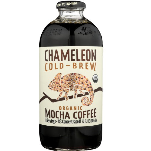 Chameleon Cold Brew - Mocha Coffee Liquid Concentrate - 32 OZ