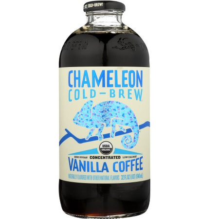 Chameleon Cold Brew - Vanilla Coffee Liquid Concentrate - 32 OZ