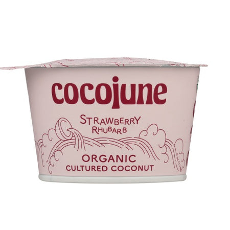 Cocojune - Strawberry Rhubarb Yogurt - 4oz
