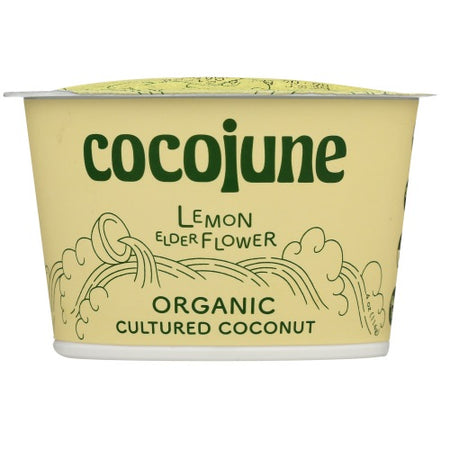 Cocojune - Lemon ElderFlower Yogurt - 4oz