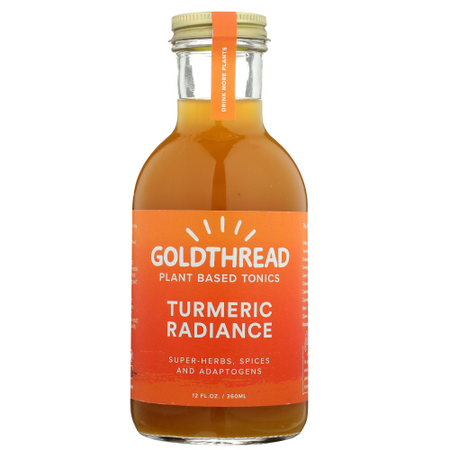 Goldthread - tumeric tonic 12 oz