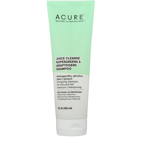 acure juice cleanse shampoo 8oz