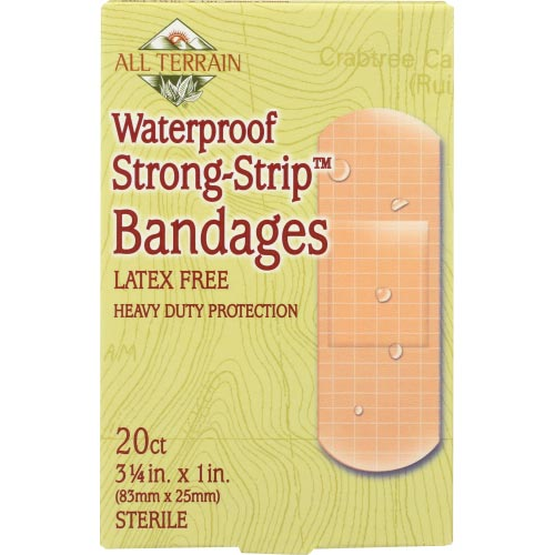 All Terrain - Bandage Strong Strip Waterproof - 20 PC