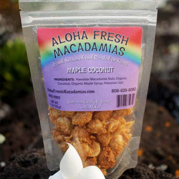 Aloha Fresh Macadamias - Maple Coconut