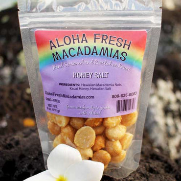 Aloha Fresh Macadamias - Honey Salt