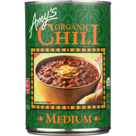Amys - Chili Medium - 14.7 OZ