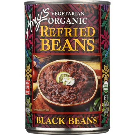 Amys - Bean Refried Black - 15.4 OZ