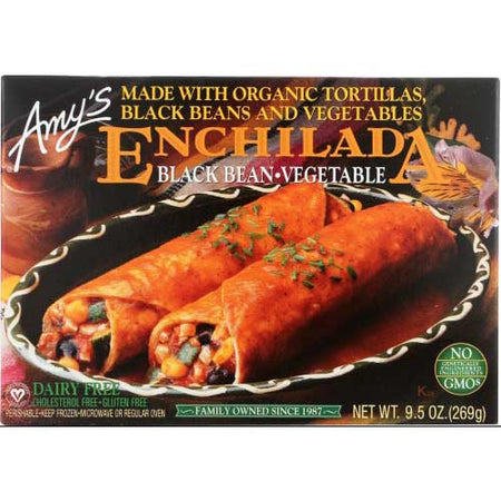 Amys - Enchilada Black bean Veg Gf - 9.5 OZ