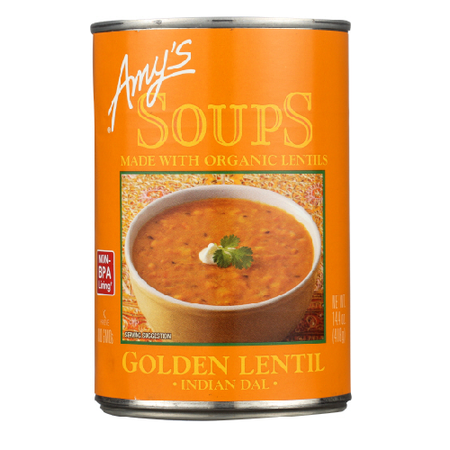 amys soup golden lentil soup 14oz