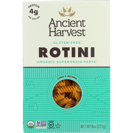 Ancient Harvest - Pasta Rotini - 8 OZ