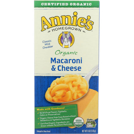 Annies Homegrown - Mac & Cheese  - 6 OZ