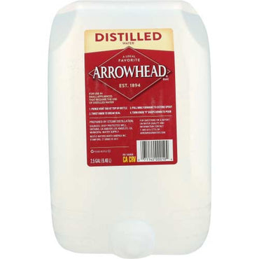 Arrowhead Water - Distilled Water - 2.5 GA