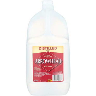 Arrowhead Water - Distilled Water - 1 GA