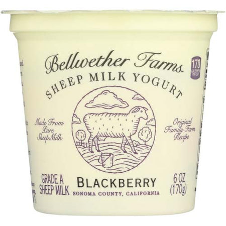 Bellwether Farms - Yogurt Sheep Blackberry - 6 OZ