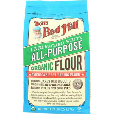 Bobs Red Mill - Flour Flour Unbleached - 5 LB