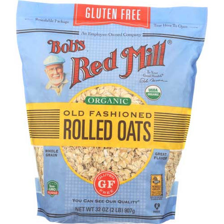 Bobs Red Mill - Oats Rolled - 32 OZ