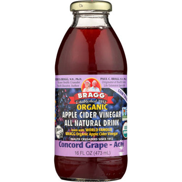 Bragg - Apple Cider Vinegar Grape & Acai  - 16 OZ