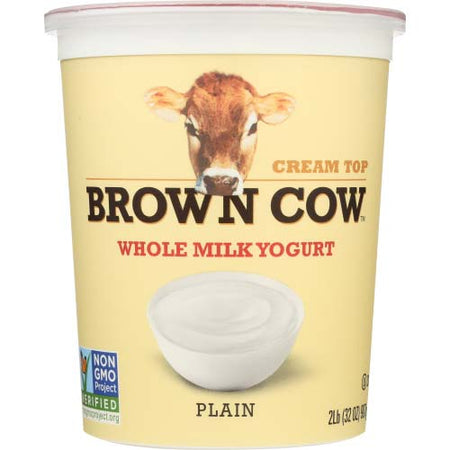 Brown Cow - Yogurt Whole Milk Plain - 32 OZ