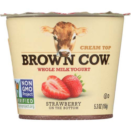 Brown Cow - Yogurt Strawberry - 5.3 OZ