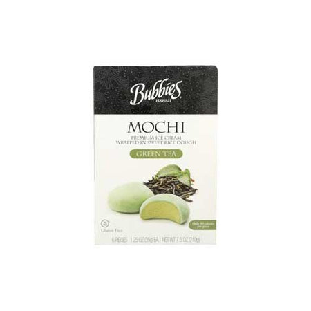 Bubbies - Ice Cream Mochi Green Tea - 7.5 OZ