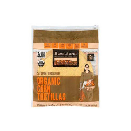 Buenatural - Frozen Tortilla Corn - 8 OZ