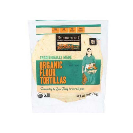 Buenatural - Frozen Tortilla Flour - 13 OZ