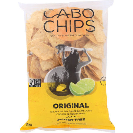 Cabo Chips - Chip Tortila Soy Sauce Lime - 10 OZ