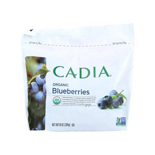 Cadia - Frozen Fruit Blueberries Org - 10 OZ