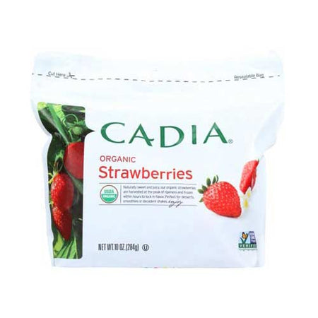 Cadia - Frozen Fruit Strawberry Org - 10 OZ