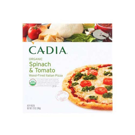 Cadia - Frozen Pizza Spinach & Tomato - 13 OZ