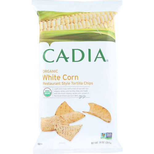 Cadia - Chip Tortilla White Corn  - 14 OZ