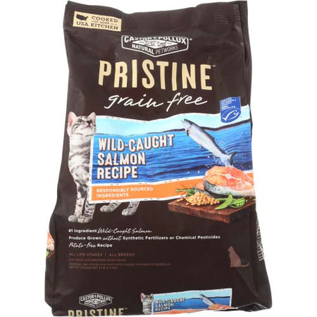 Castor & Pollux - Cat Food Dry Salmon - 3 LB