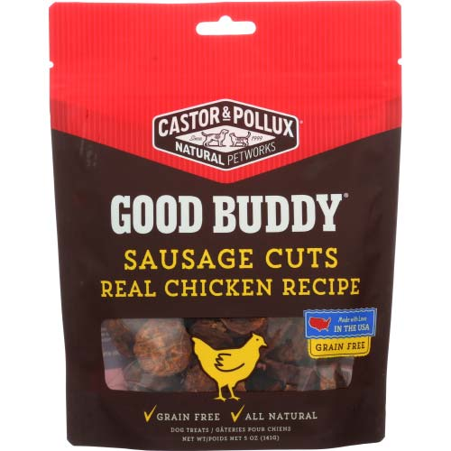 Castor & Pollux - Dog Food Sausage Chicken  - 5 OZ