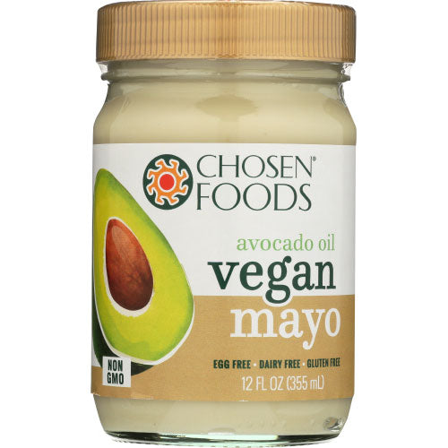 Chosen Foods - Mayonnaise Vegan Avocado Oil - 12 OZ